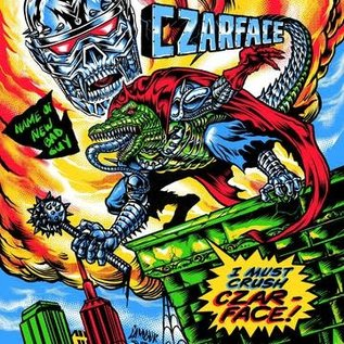 Czarface - The Odd Czar Against Us LP green vinyl