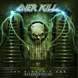 Overkill - The Electric Age LP neon green vinyl