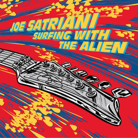 Joe Satriani - Surfing with the Alien LP red vinyl deluxe edition