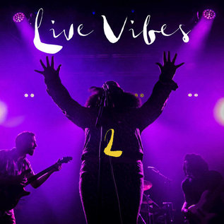 Tank and the Bangas - Live Vibes 2 LP purple yellow vinyl