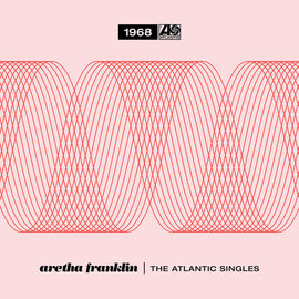 "Aretha Franklin – The Atlantic Singles (1968) 7"" box"