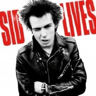 Sid Vicious - Sid Lives! LP red, white, and blue vinyl