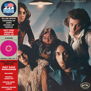 Flamin' Groovies ‎– Flamingo LP pink vinyl
