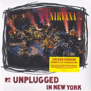 Nirvana – MTV Unplugged In New York LP 25th anniversary edition