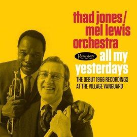Thad Jones / Mel Lewis Orchestra - All My Yesterdays LP