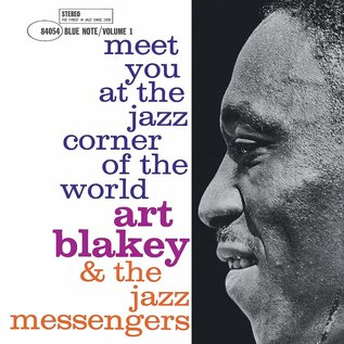 Art Blakey & The Jazz Messengers ‎– Meet You At The Jazz Corner Of The World (Volume 1) LP