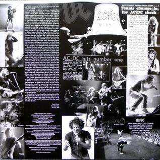 AC/DC – Back In Black LP
