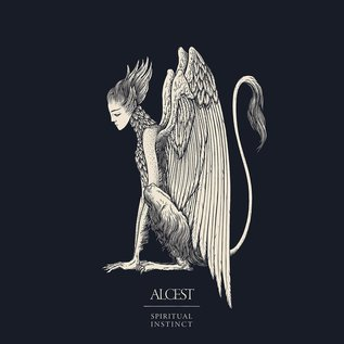 Alcest – Spiritual Instinct LP clear blue and bone splatter vinyl