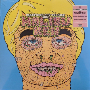 Aesop Rock and Tobacco - Malibu Ken LP blue vinyl