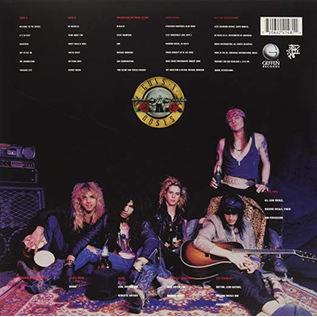Guns N' Roses -- Appetite For Destruction LP