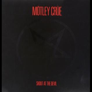 Mötley Crüe (Motley Crue) – Shout at the Devil LP red swirl vinyl