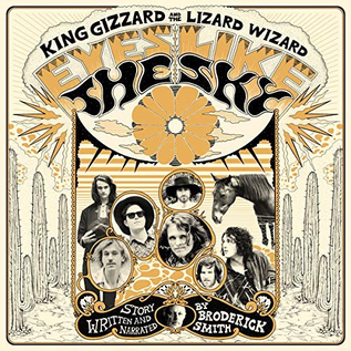 King Gizzard and the Lizard Wizard ‎– Eyes Like the Sky LP orange vinyl