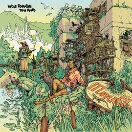 Wolf Parade – Thin Mind LP yellow transparent vinyl loser edition
