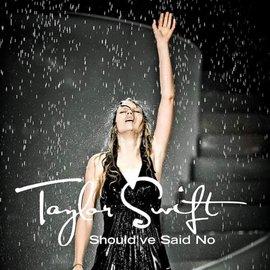 "Taylor Swift – Should've Said No 7"" white vinyl"