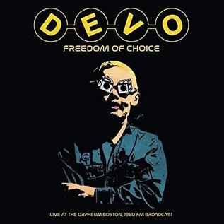 Devo – Freedom of Choice - Live at the Orpheum Boston, 1980 FM Broadcast LP