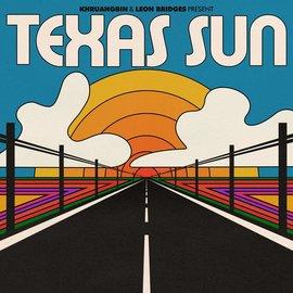 "Khruangbin & Leon Bridges – Texas Sun EP 12"" orange vinyl"