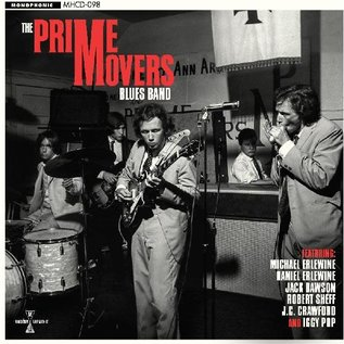 Prime Movers Blues Band - The Prime Movers Blues Band CD