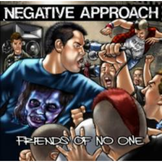 """Negative Approach -- Friends Of No One 7"""""""