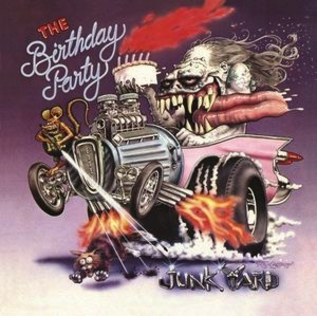 Birthday Party - Junkyard LP orange / red swirl vinyl