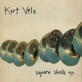 """Kurt Vile – Square Shells EP EP 12"""" opaque aqua vinyl"""