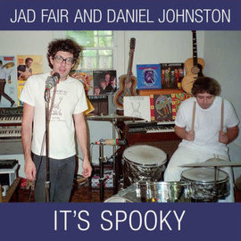 Jad Fair and Daniel Johnston ‎– It's Spooky LP casper white vinyl