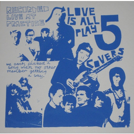 """Love Is All – Play 5 Covers EP 12"""" vinyl"""