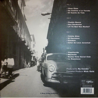 Buena Vista Social Club – Buena Vista Social Club LP