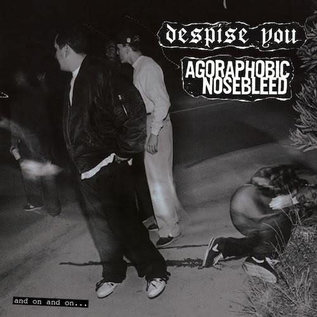 Despise You / Agoraphobic Nosebleed – And On And On... LP blood red vinyl