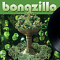 Bongzilla ‎– Stash LP olive green with brown, doublemint green and black splatter