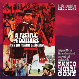 "Ennio Morricone ‎– A Fist Full Of Dollars ""per Un Pugno di Dollari"" 10"" red vinyl"