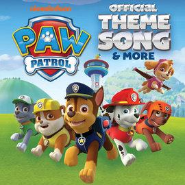"Paw Patrol - Officlal Theme Song 7"" dog bone white vinyl"