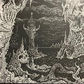 "Exhumed, Gatecreeper – Exhumed / Gatecreeper 10"" green neon vinyl"