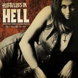 Various Artists‎– Hillbillies In Hell - Country Music's Tormented Testament (1952-1974) Volume X LP colored vinyl