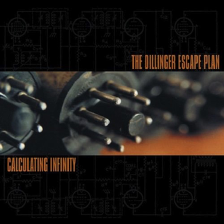 Dillinger Escape Plan – Calculating Infinity LP orange krush with black spinner vinyl