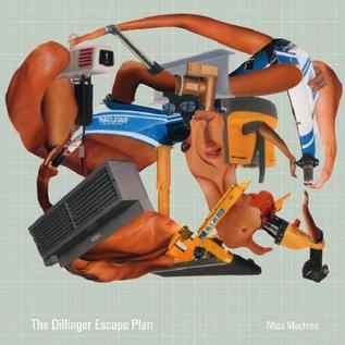 Dillinger Escape Plan – Miss Machine LP coke bottle green with white spinner vinyl