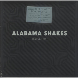 Alabama Shakes ‎– Boys & Girls LP multi-colored vinyl