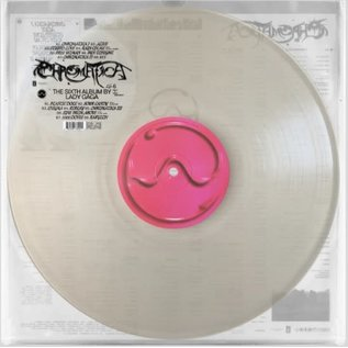 Lady Gaga – Chromatica LP milky clear vinyl
