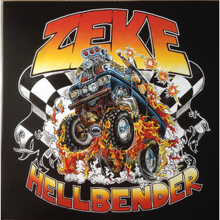 Zeke – Hellbender LP halloween orange and mustard