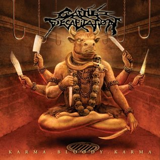 Cattle Decapitation ‎– Karma.Bloody.Karma LP orange / red vinyl