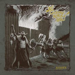 Cauldron Black Ram – Slaver LP silver w/ mustard splatter vinyl