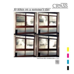 "Crass ‎– 10 Notes On A Summer's Day 12"" vinyl"