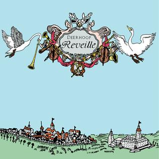 Deerhoof – Reveille LP light blue marbled vinyl