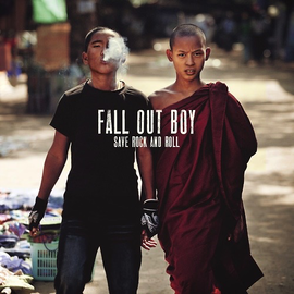 """Fall Out Boy – Save Rock and Roll 10"""" vinyl"""
