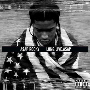 A$AP Rocky ‎– Long.Live.A$AP LP orange translucent vinyl
