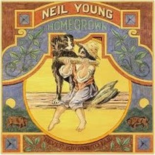 Neil Young – Homegrown LP with poster