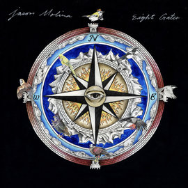 Jason Molina ‎– Eight Gates LP strawberry shortcake splash vinyl