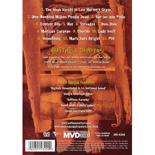 Butthole Surfers – Blind Eye Sees All (Live In Detroit 1985) DVD