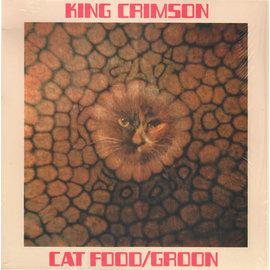 "King Crimson – Cat Food / Groon 10"" vinyl single"