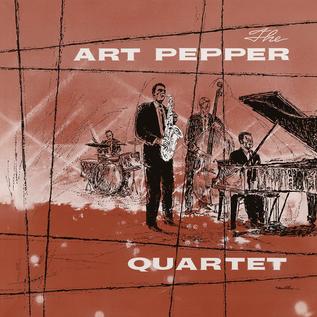 Art Pepper Quartet – The Art Pepper Quartet LP mono / clear vinyl