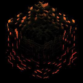 C418 – Minecraft - Volume Beta LP fire splatter vinyl